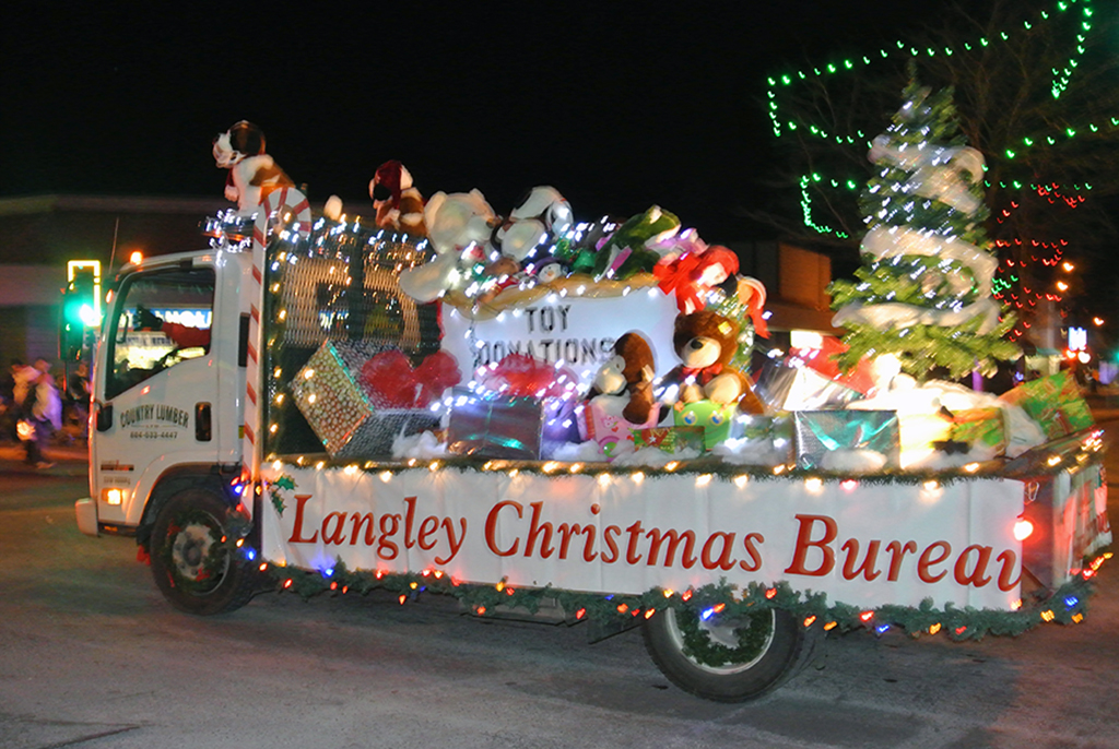 Langley Christmas Bureau 2013 Float